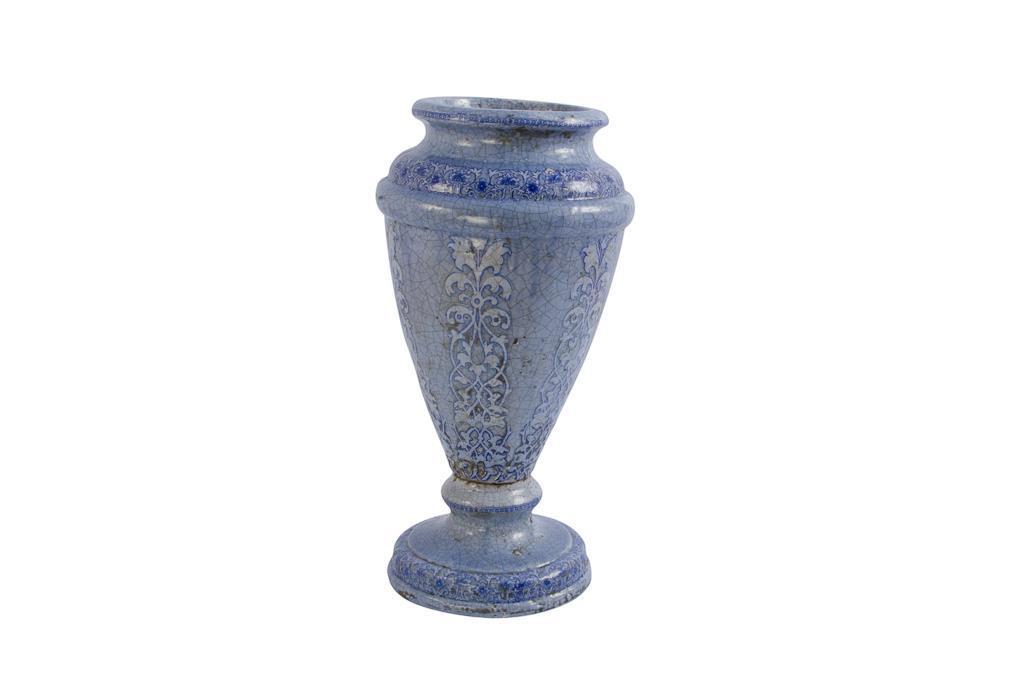 Vaso de Cerâmica  Azul - 0234