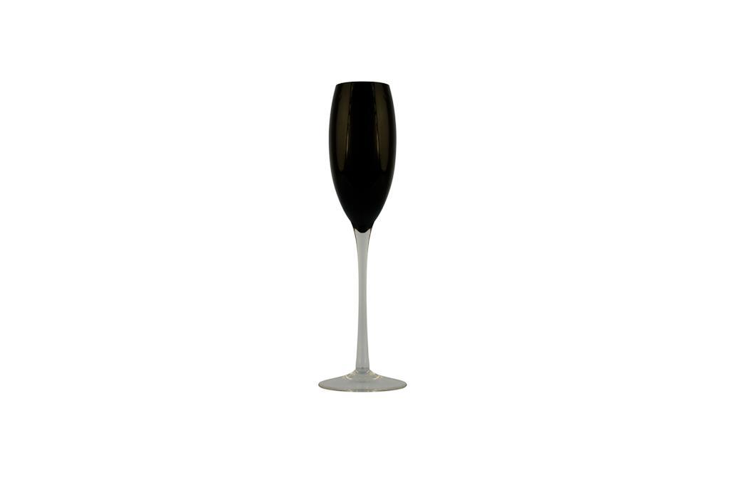 Taça de Champagne  Negra Lidia