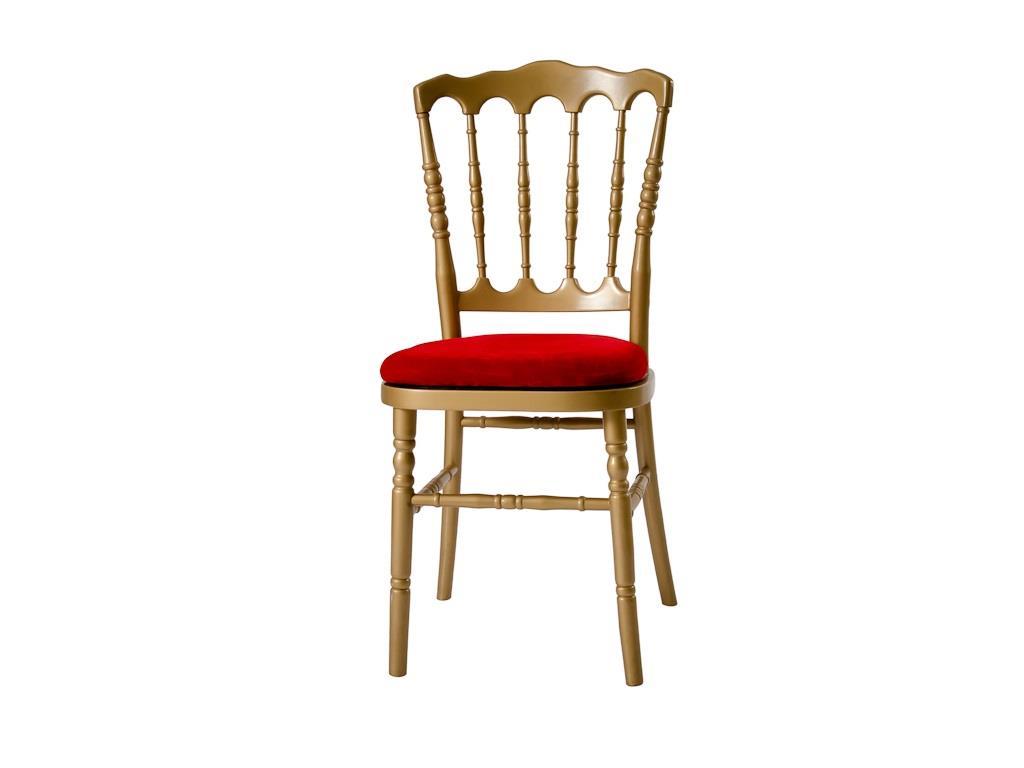 Cadeira Dior Dourada - 0046