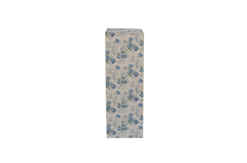 Coluna de tecido floral - 0207
