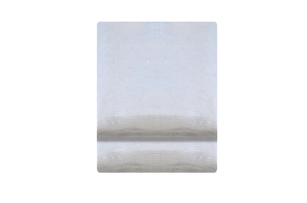 Toalha Grande Dupla Retangular Branca  - 0467