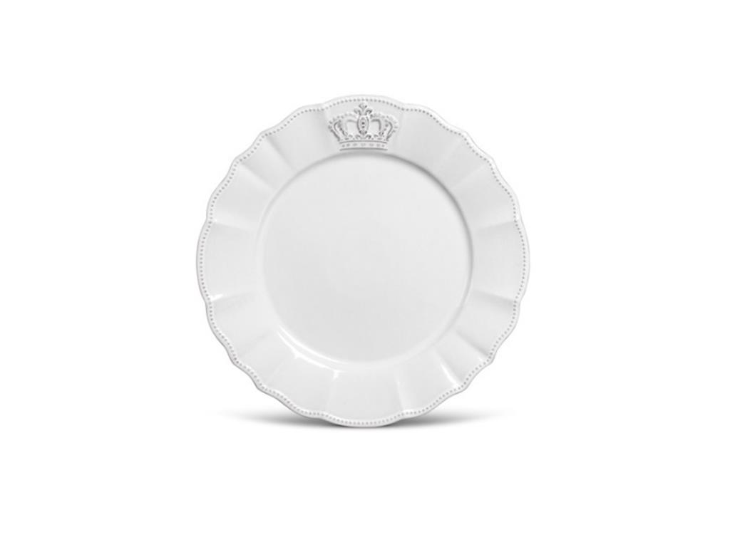 Sousplat Branco Coroa Windsor - 5072