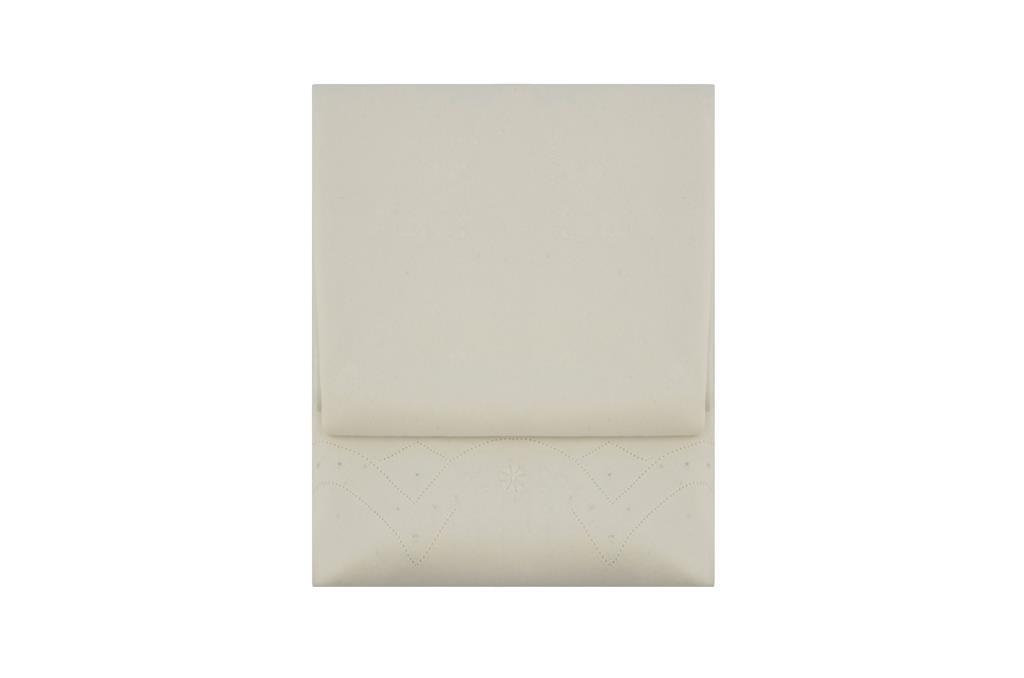 Toalha Rechillier Redonda Branca - 0498