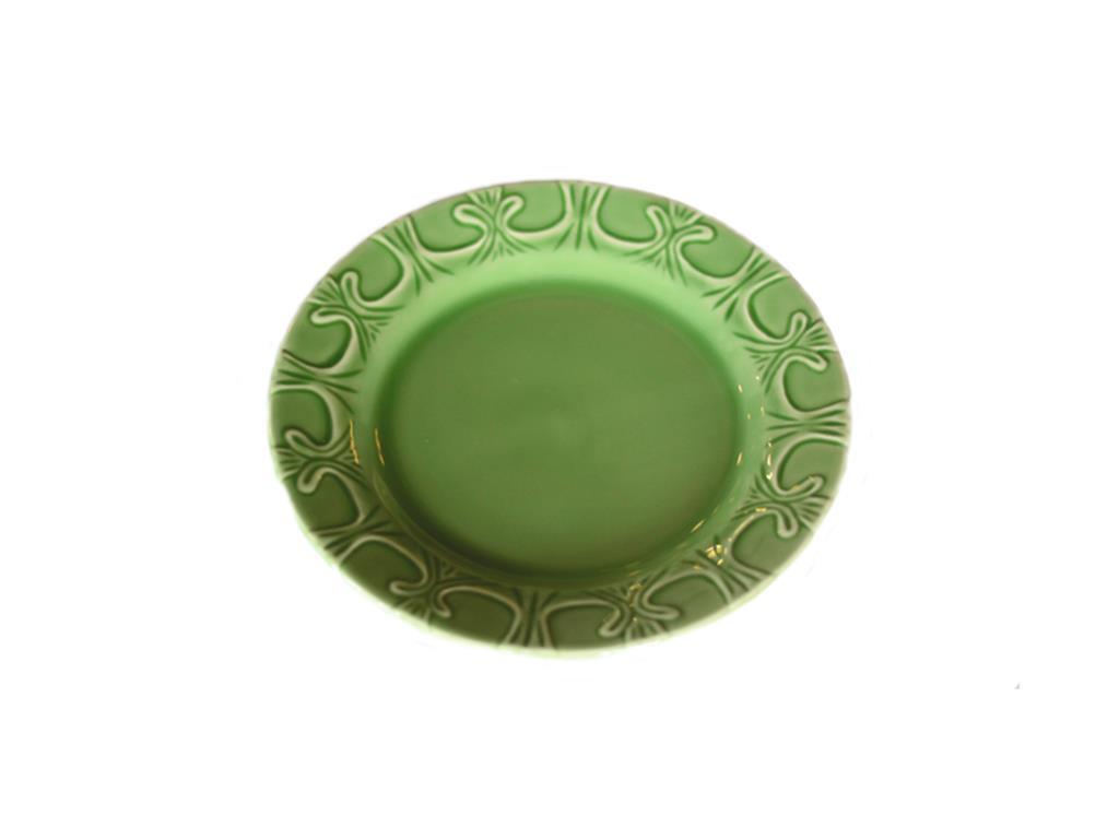 Prato De Mesa Arabescos Verde - 5490