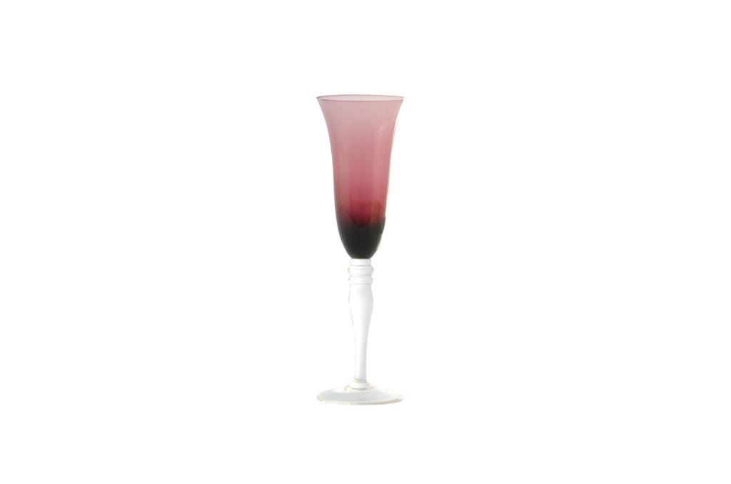 Taça de Champagne Glasseware Lilás