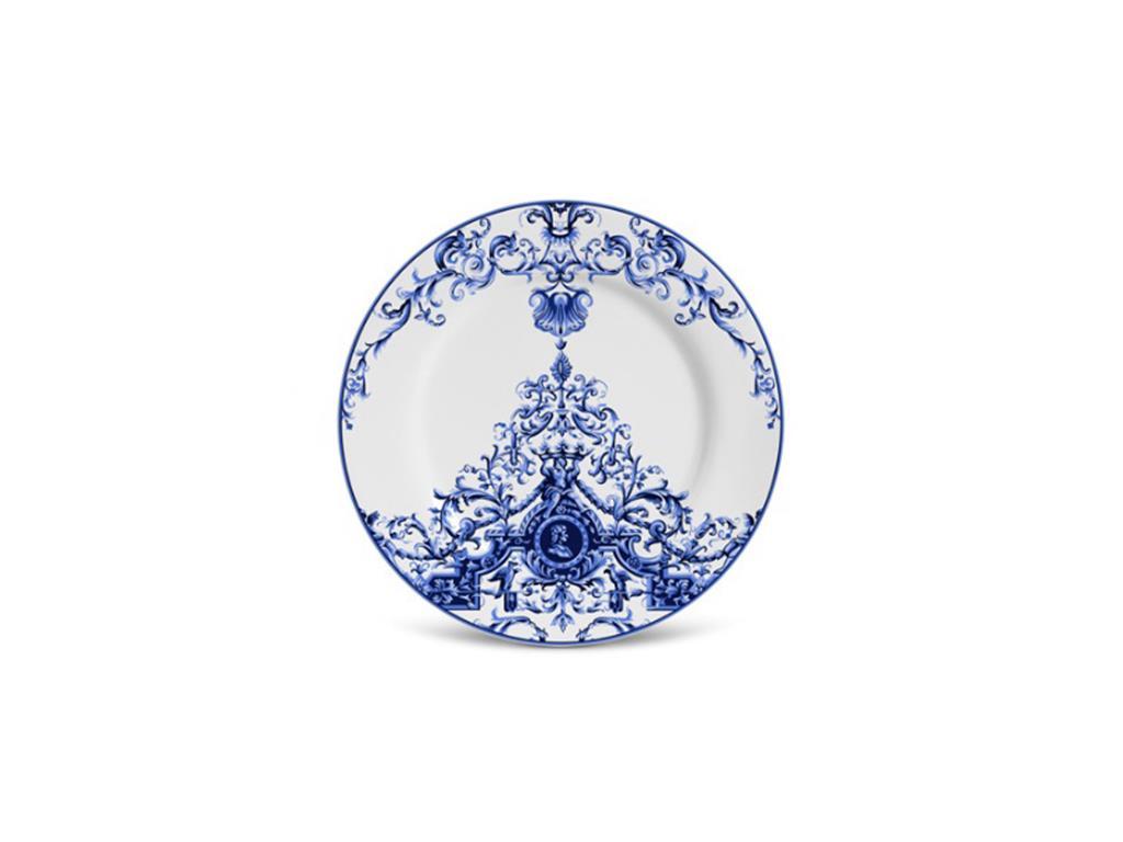 Prato De Sobremesa Lisboa - Estampa Azulejo Português - 5475