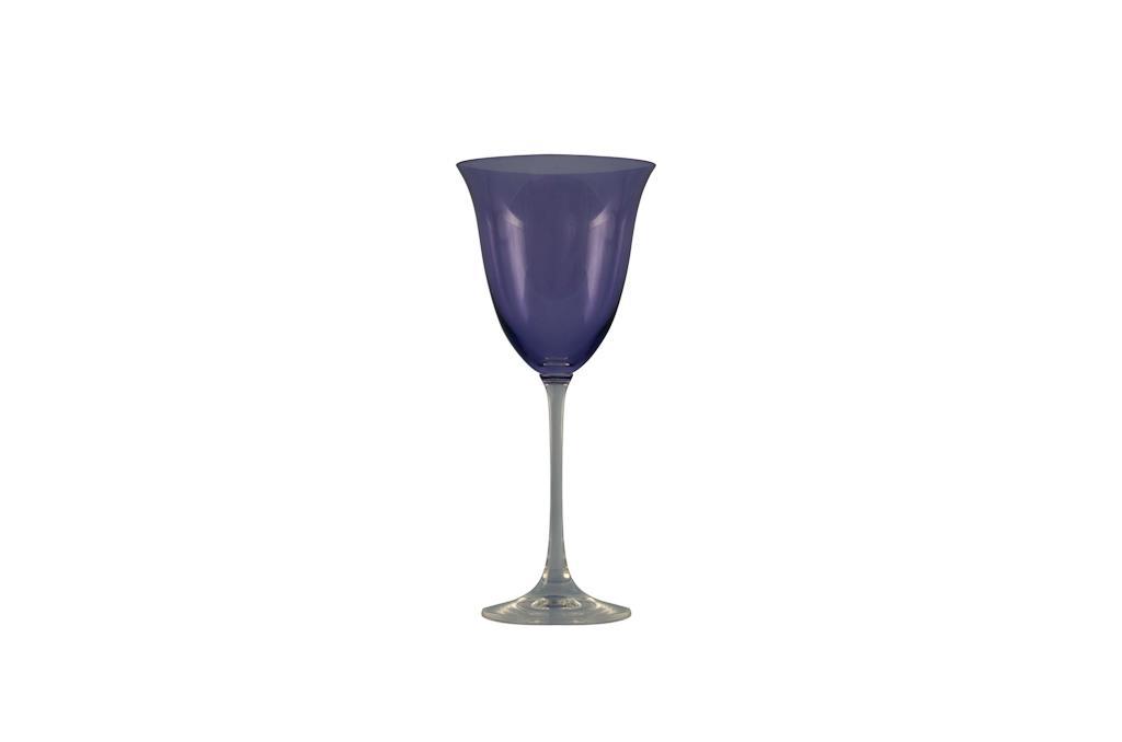 Taça de Água Flora  Lilás