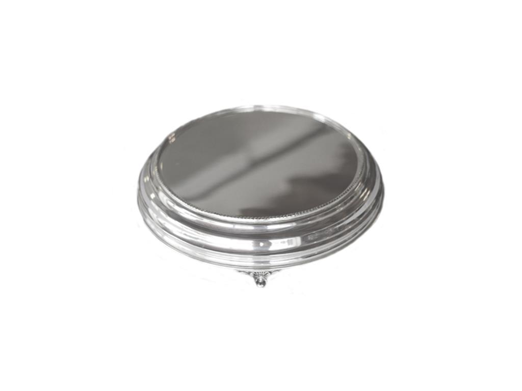Boleira De Prata Lisa Pequena - 5487