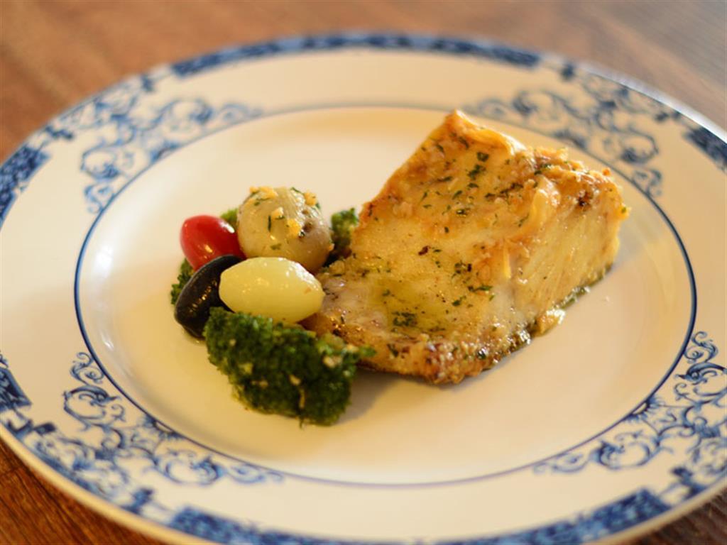 Bacalhau com mini legumes - 5113