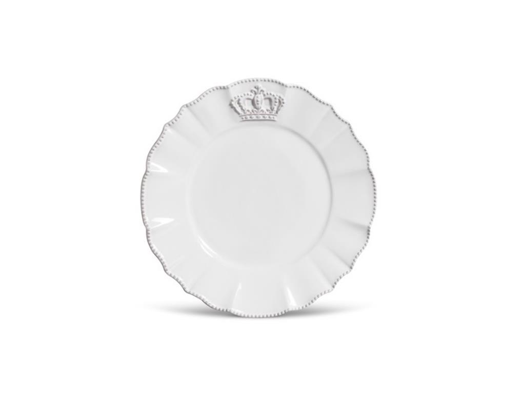 Prato Raso Branco Coroa Windsor -5073