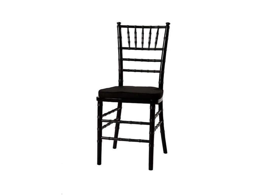 Cadeira Tiffany Preta - 0054