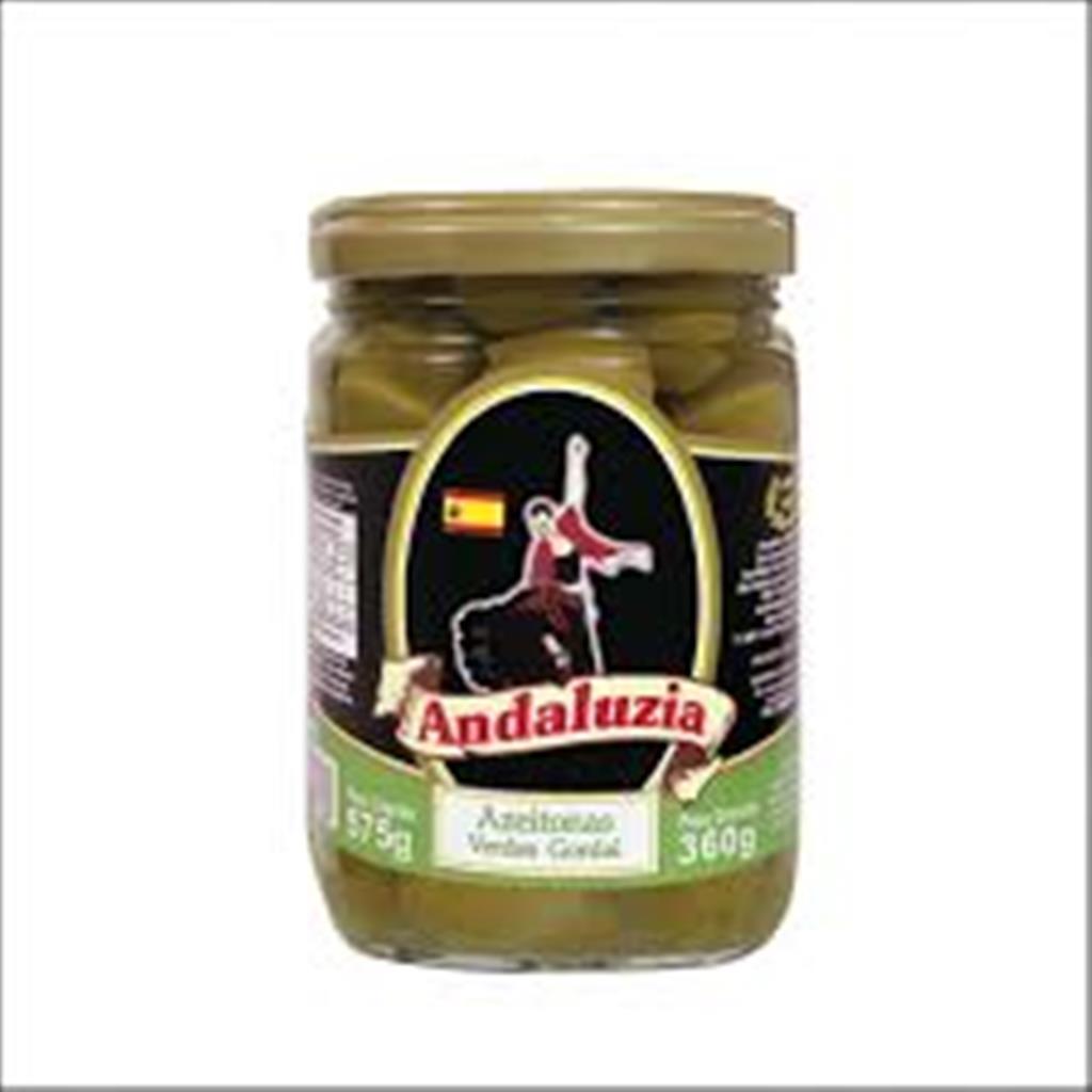 Azeitonas Verdes Gordal Andaluzia 360g