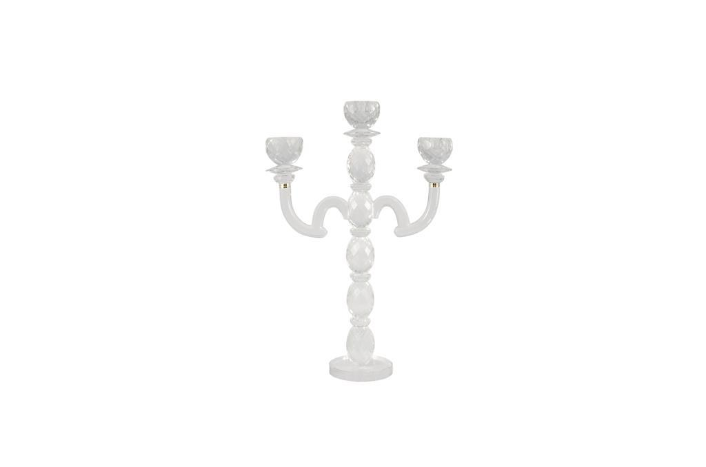 Candelabro de Cristal - 0203
