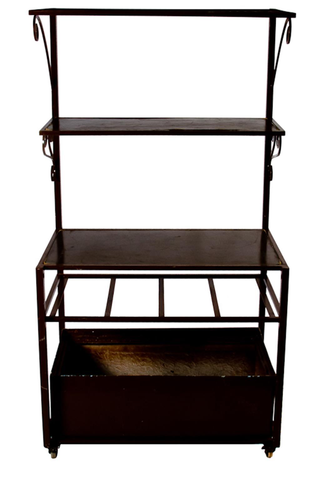 Bar de ferro Marrom - 0245