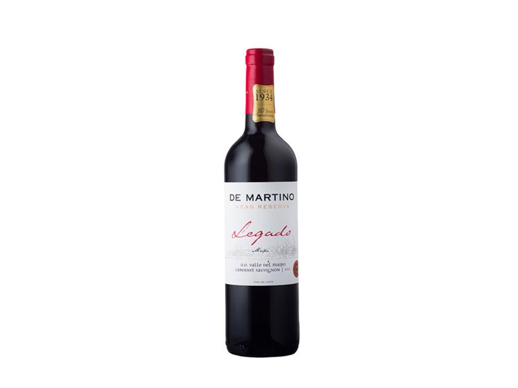 Vinho Tinto Seco  Carménère Legado de Martino 750 ml