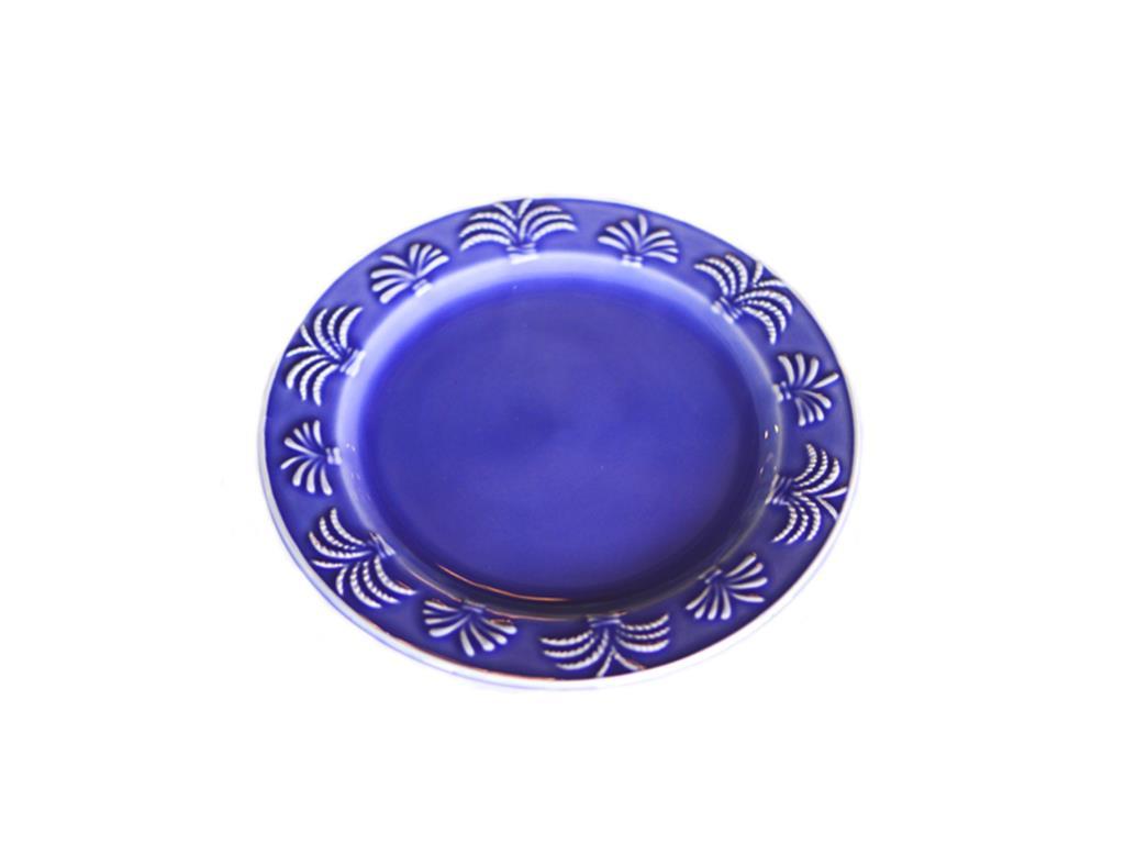 Prato de mesa Coqueiro Azul - 5077
