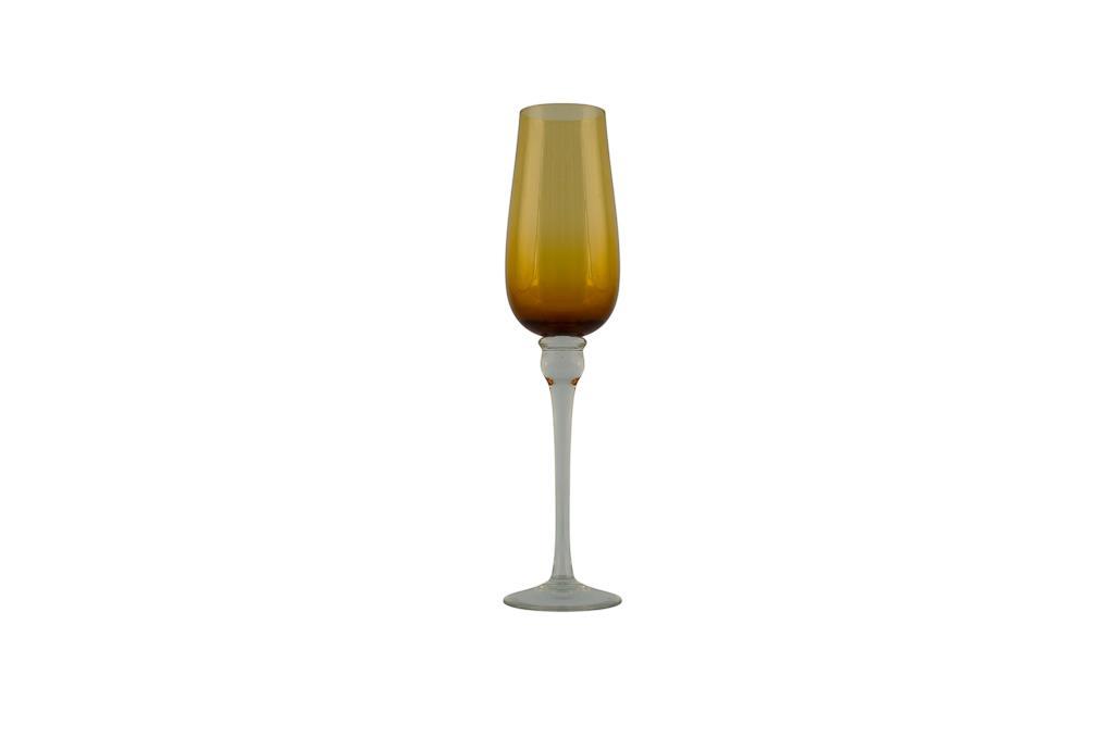 Taça de Champagne  Casagrande Âmbar