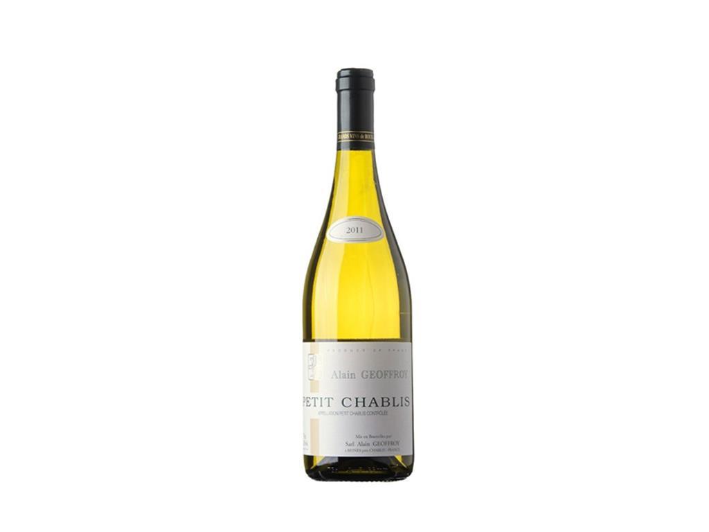 Vinho Branco Seco Petit Chablis Alain Geoffroy 750ml