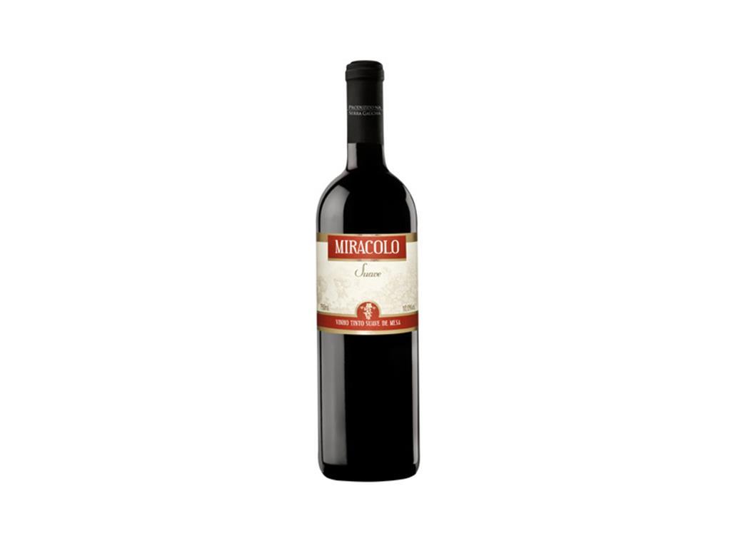 Vinho Tinto seco Miracolo 750ml