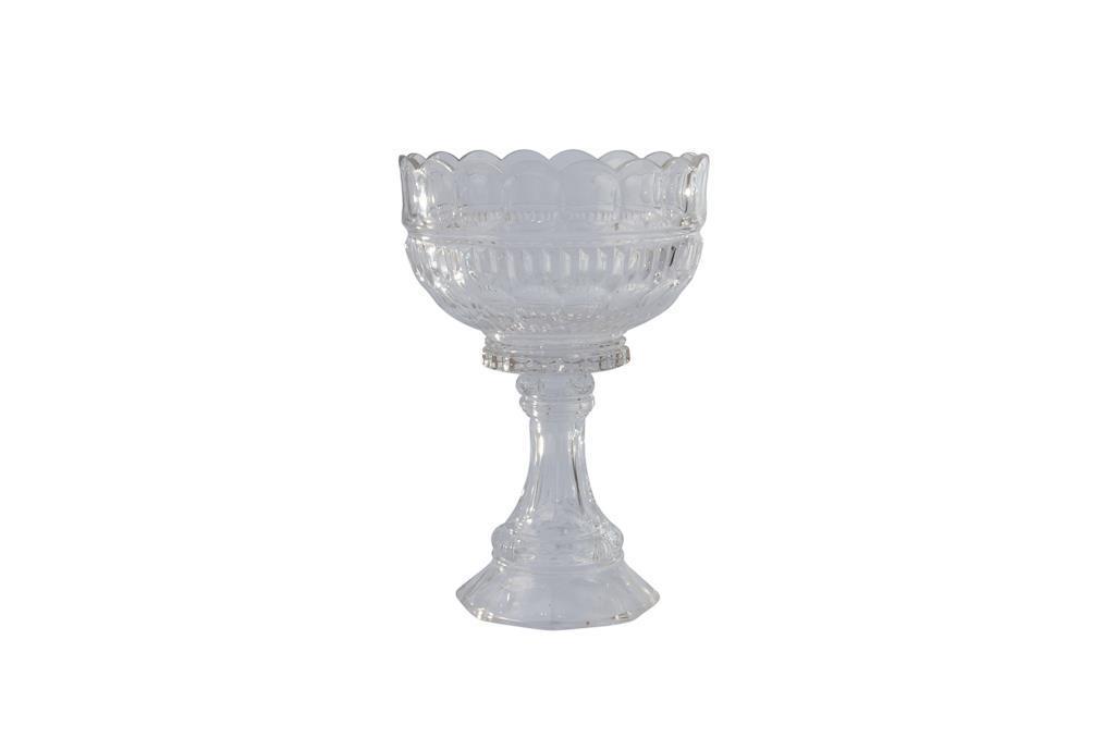 Peça de doces de Cristal com pé alta - 3306