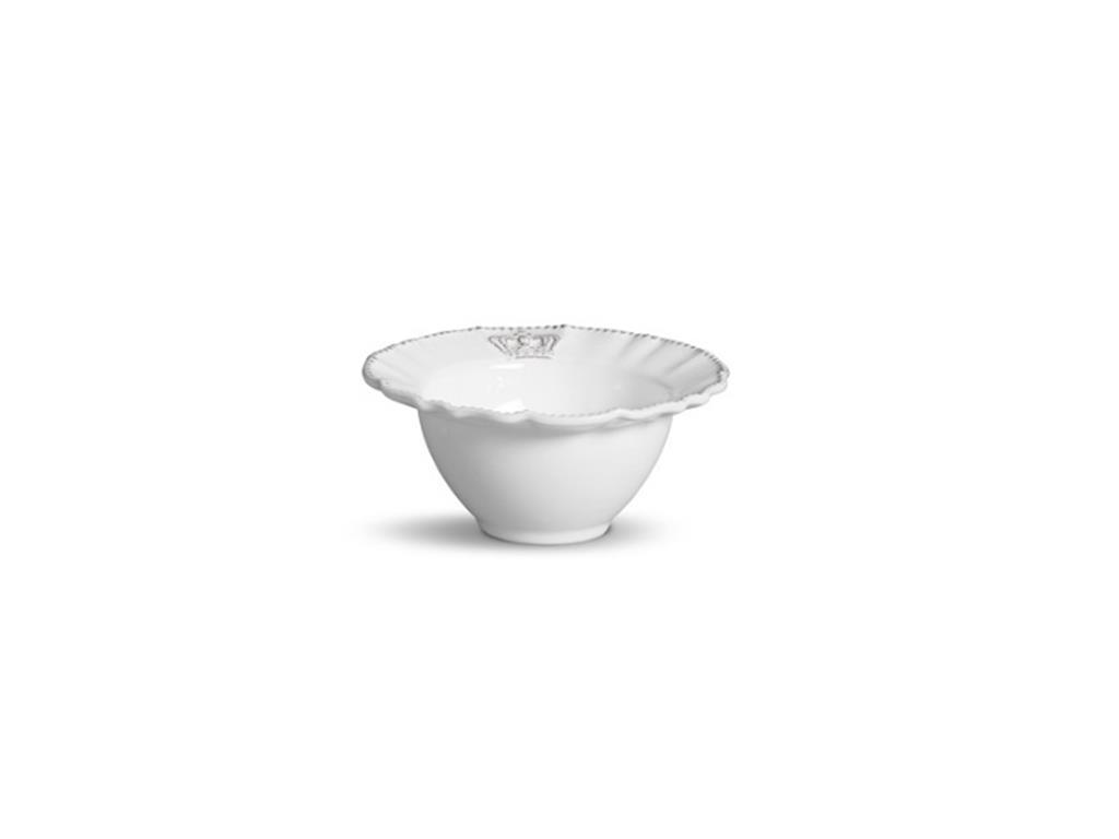 Bowl Branco Coroa Windsor - 5076
