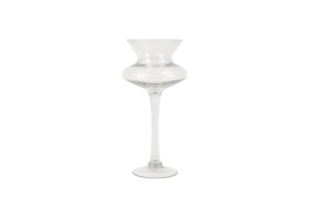 Vaso de Vidro grande com pé - 3260