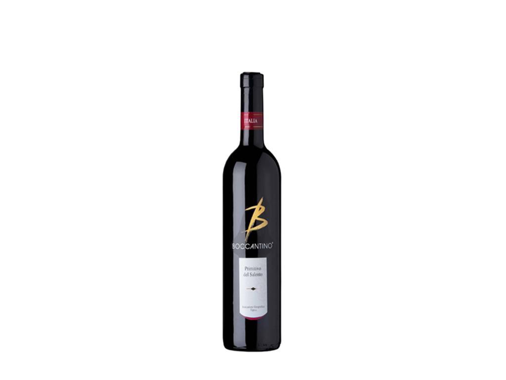 Vinho Tinto Meio Seco Fino Primitivo Del Salento Boccantino 750ml