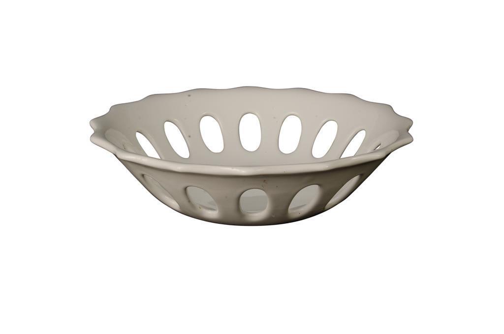 Porcelana para Doce  Redonda Vazada - 0322