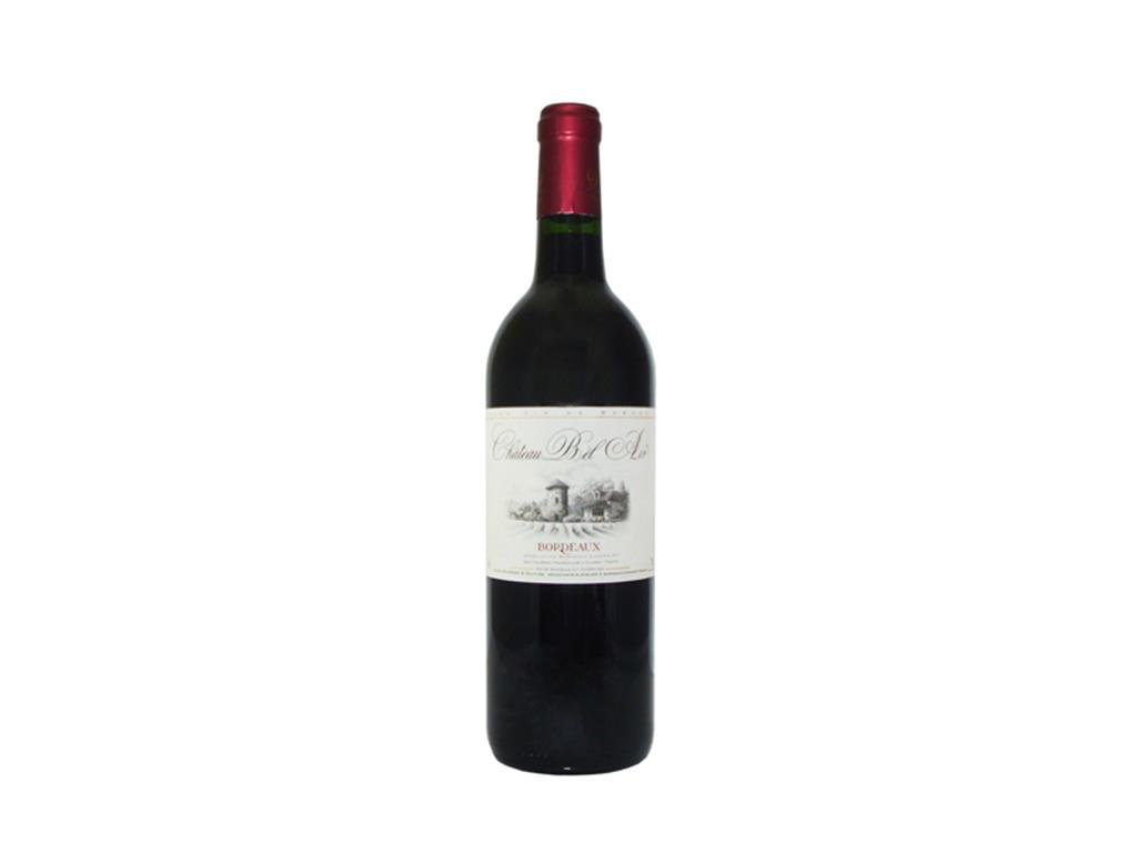 Vinho Tinto Seco Chateau Bel Air Bordeaux 750ml