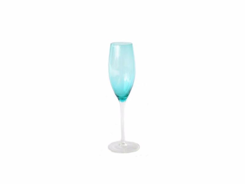 Taça De Champagne - Azul Vanity - 3419