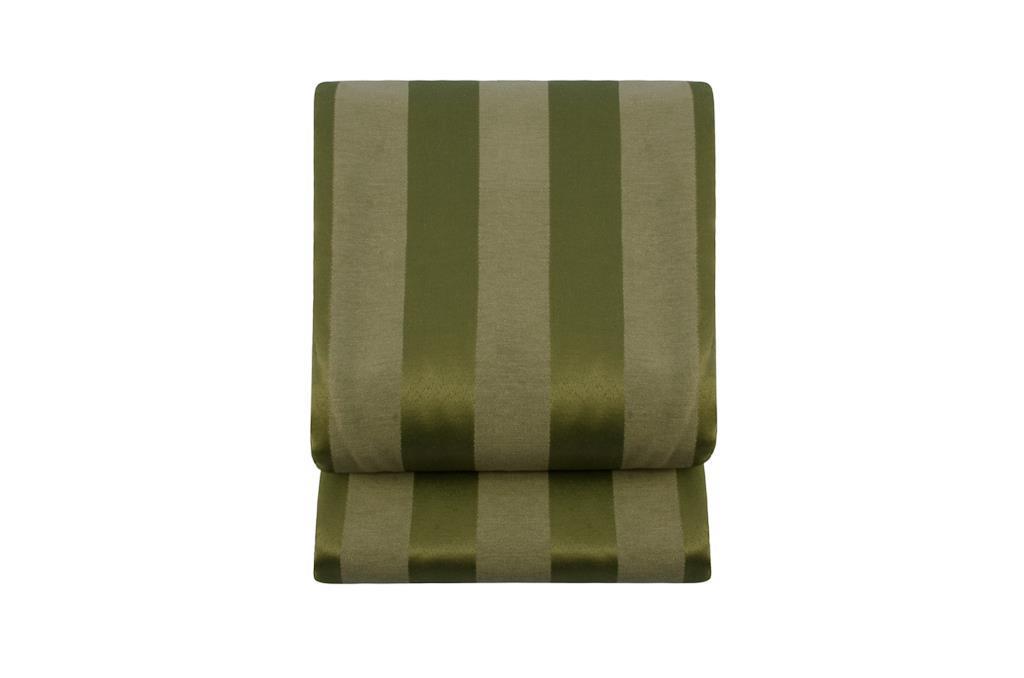 Toalha Listrada Retangular Verde Cana - 0470