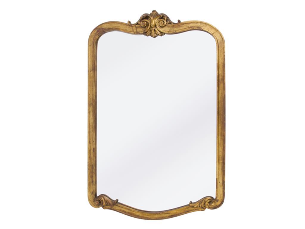 Espelho dourado envelhecido - 3267