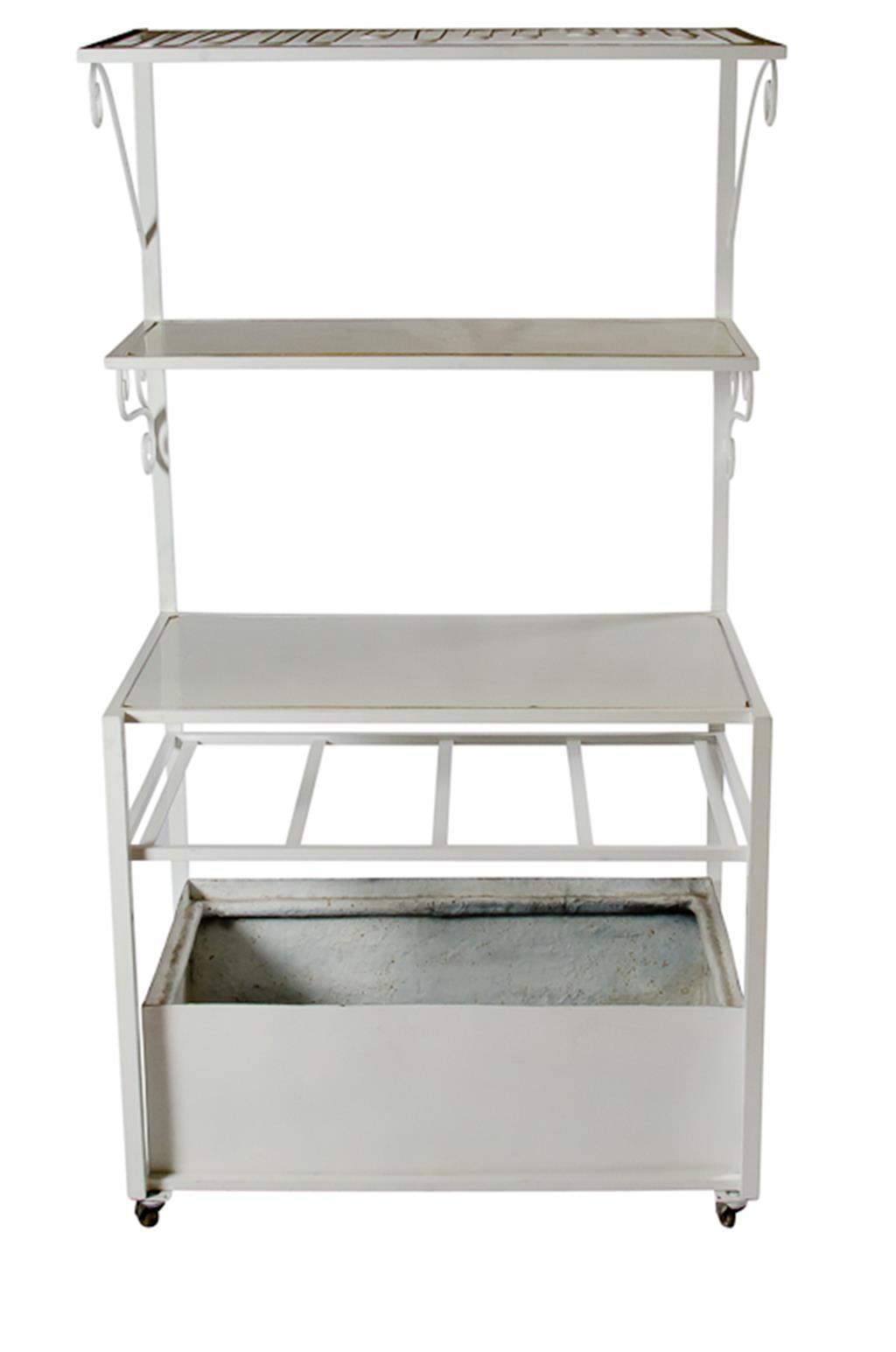 Bar de ferro Branco - 0246