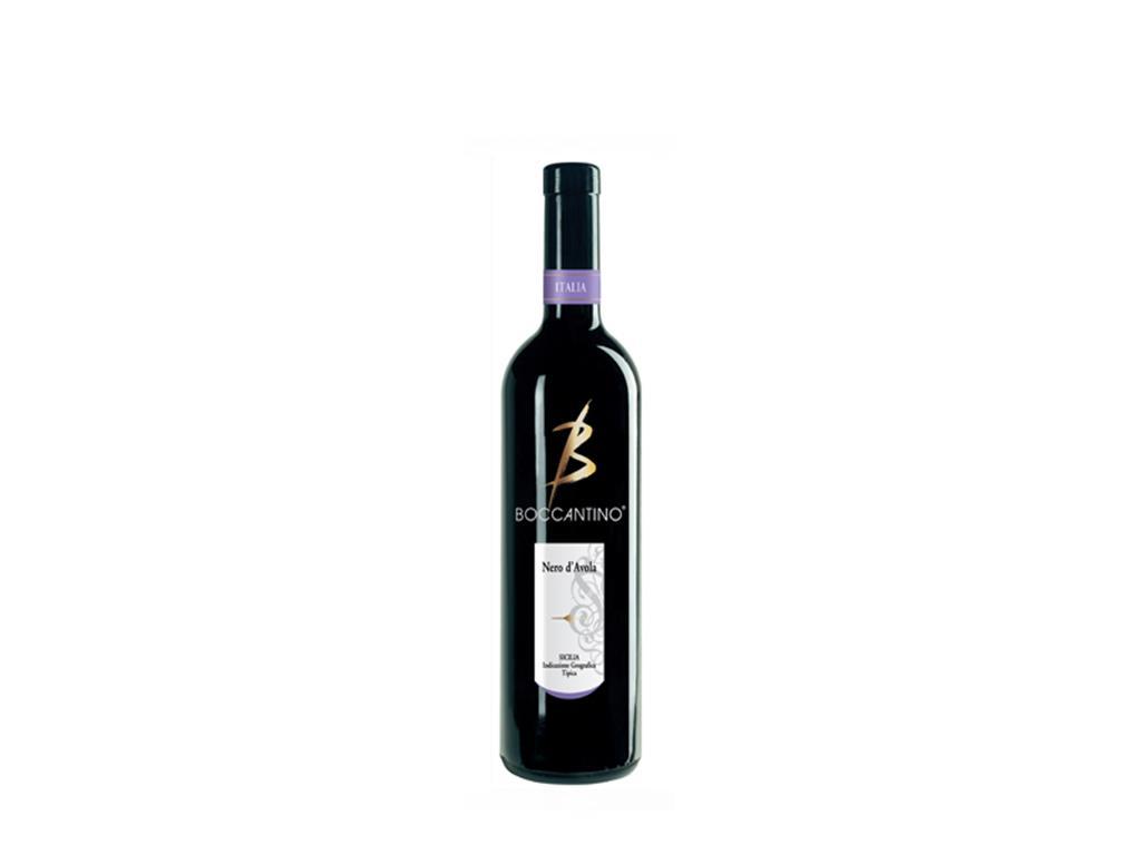 Vinho Tinto Meio Seco Fino Nero D Avola Boccantino 750ml