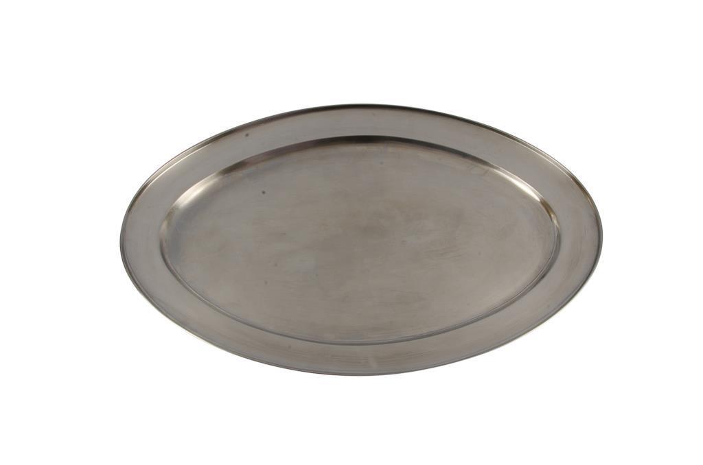 Baixela Oval Inox - 0028