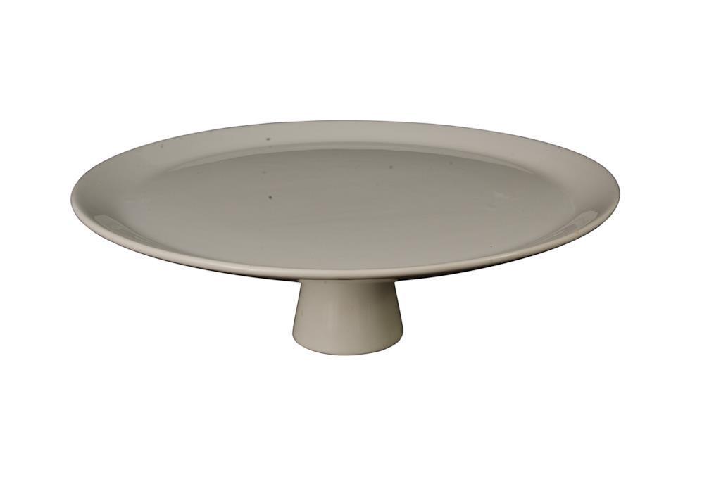 1266 - Porcelana Para Doce - Redonda Grande Lisa Com Pé - 3234 - g13 (Copy)